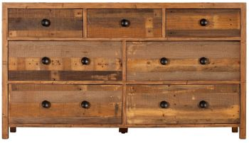 Retro Chest 7 Drawer Wide
