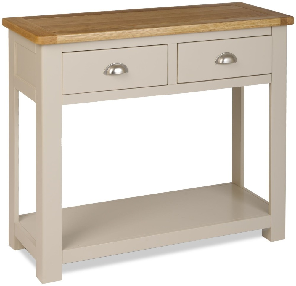 Straton 2 Drawer Console Table