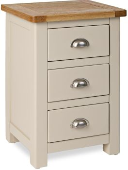 Stratton Stone Chest Bedside Cabinet