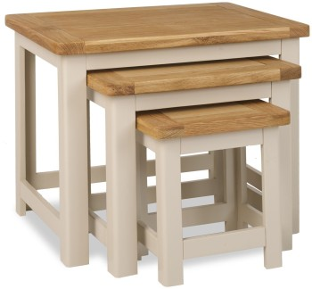 Stratton Stone Coffee Nest of Tables