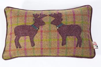 Plum Crumble - Kissing Stags Cushions