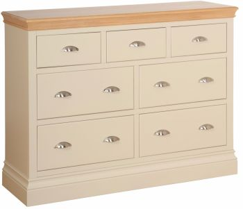 Amelia Chest 3 over 4 Jumper Drawers Truffle & Oak