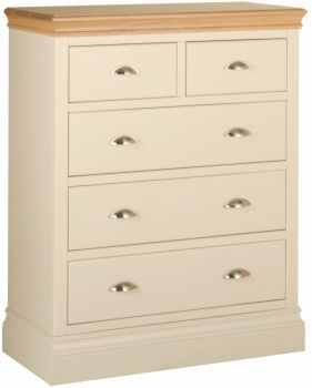 Amelia Chest 3+2 Drawer Truffle & Oak