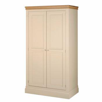 Lundel Robe Double Door ivory oak