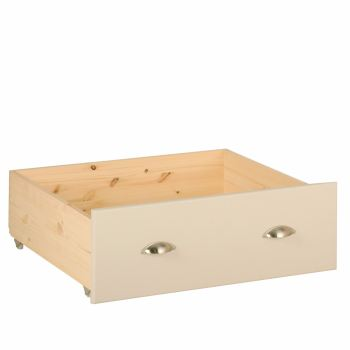Lundel Bed Under Storage Drawer ivory