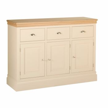 Amelia Sideboard 3 Door 3 Drawer Truffle & Oak