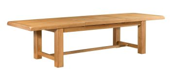 Rothes Oak Dining Table Recfectory