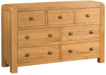Nova Oak Chest 3 over 4