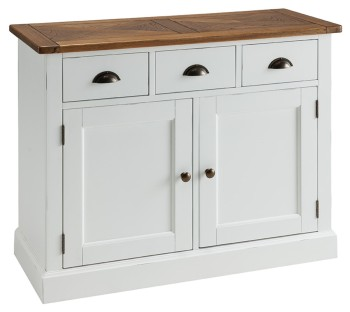 Catrine Elm & Painted Sideboard Small