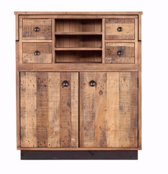 Retro X Bureau Reclaimed Wood