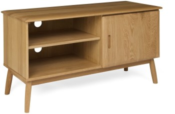 Flow Oak TV Cabinet 1 Door
