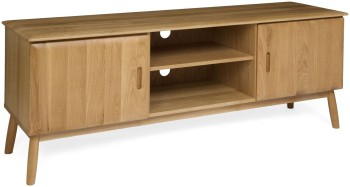 Flow Oak TV Unit