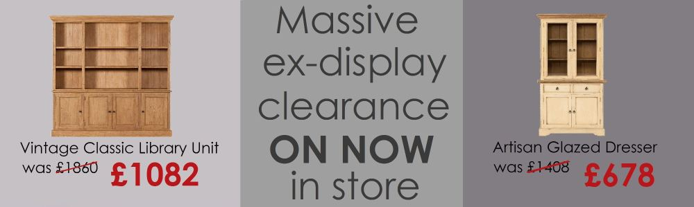 massive ex display clearnce