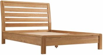 Kimi Oak Bed Double