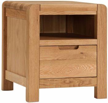 Kimi Oak Bedside