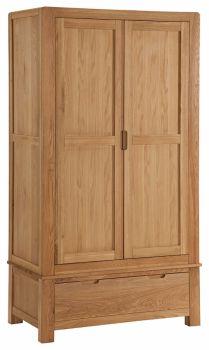 Kimi Oak Wardrobe