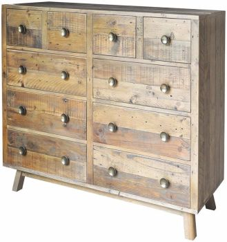 Stanwick Chest 4 over 6 Chest Reclaimed Timber