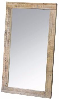 Stanwick Mirror Wall Reclaimed Timber