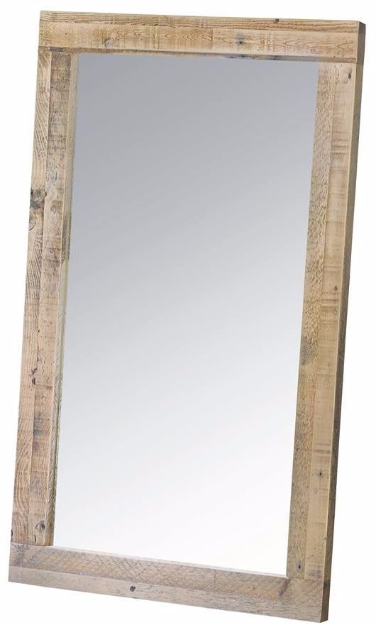 Stanwick mirror wall reclaimed timber for Mirror 60cm wide