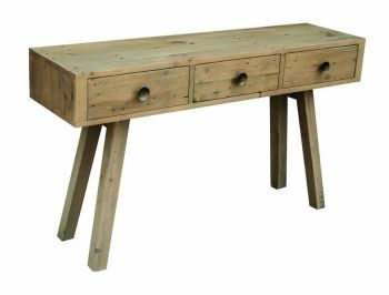 Stanwick Console Table Reclaimed Timber