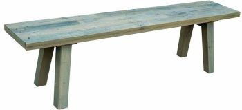 Stanwick Dining Bench Reclaimed Timber 195cm