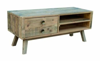 Stanwick TV Unit  Reclaimed Timber