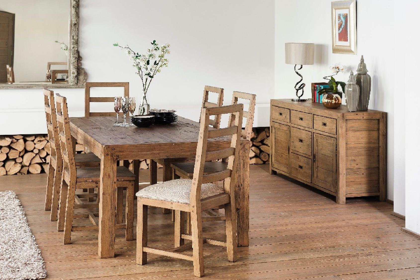 Toscanna Dining Reclaimed Wood