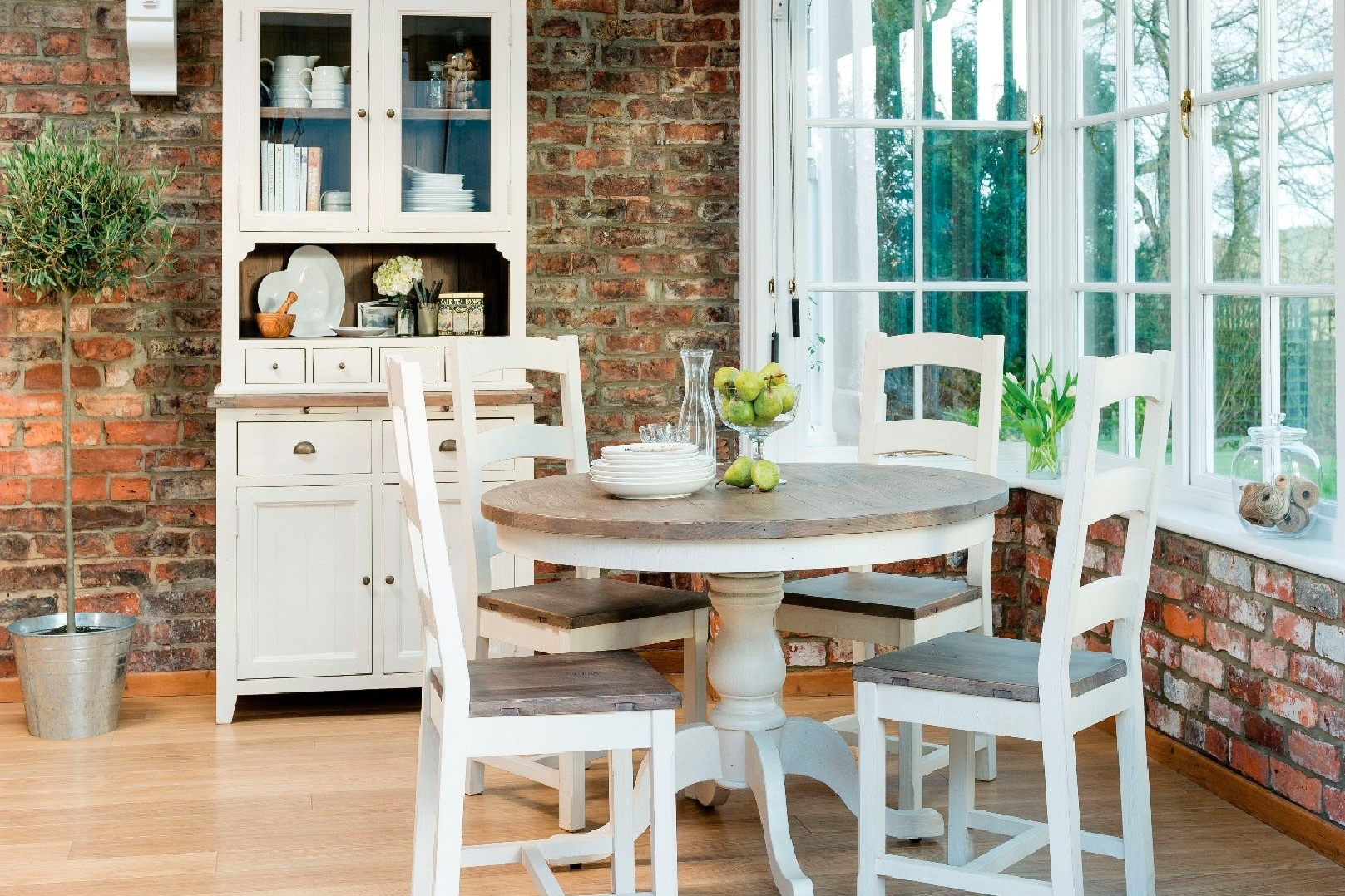 New Christy Dining Solid Wood