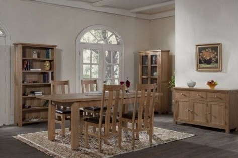 New Amber Oak Dining Room Range