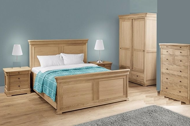 Como European Oak Bedroom Ranges
