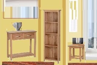 Katharine Solid Oak Living Collection