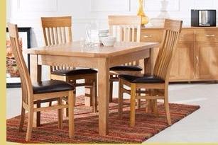 Katharine Solid Oak Dining Room Range