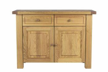Lorient Oak Sideboard 2 Door 2 Drawer Oak