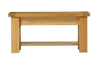 Lorient Oak Table  Coffee Small with Shelf