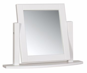 Silverton White Painted Dressing Table Mirror