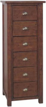 Forest Reclaimed Chest 6 Drawer Tall