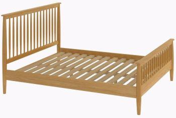 Flow Oak Bed Frame King size Oak