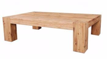 Loft Solid Oak Coffee Table Oil Finish