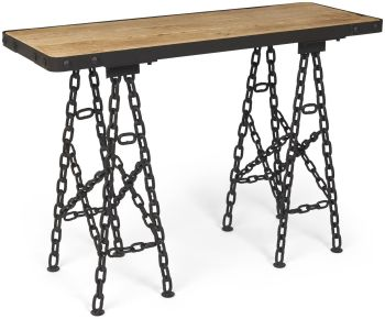 Kenmore Chain Console Table