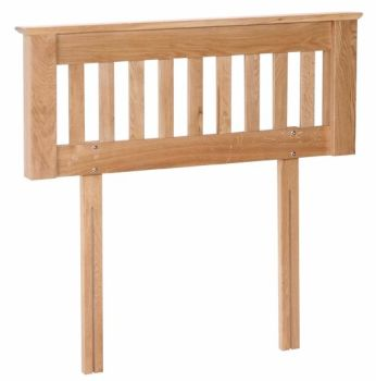 Katharine Oak Headboard Single