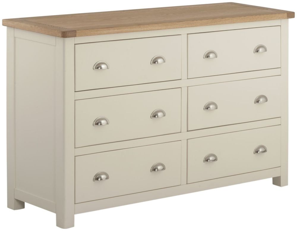 Stratton Cream Chest 6 Drawer