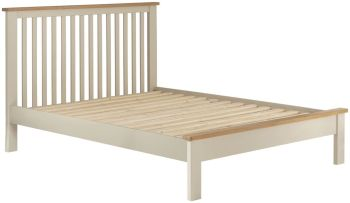 Stratton Cream Bed Frame Double