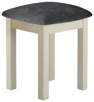 Stratton Cream Dressing Table Stool