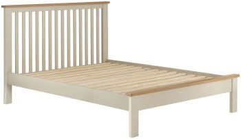 Stratton Cream Bed Fame King Size