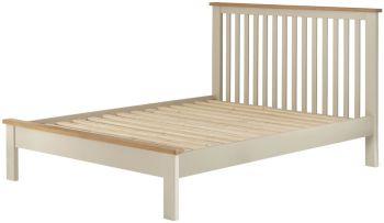 Stratton Cream Bed Frame Single