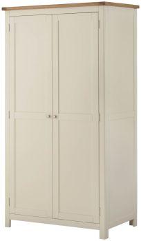 Stratton Cream Wardrobe 2 Doors