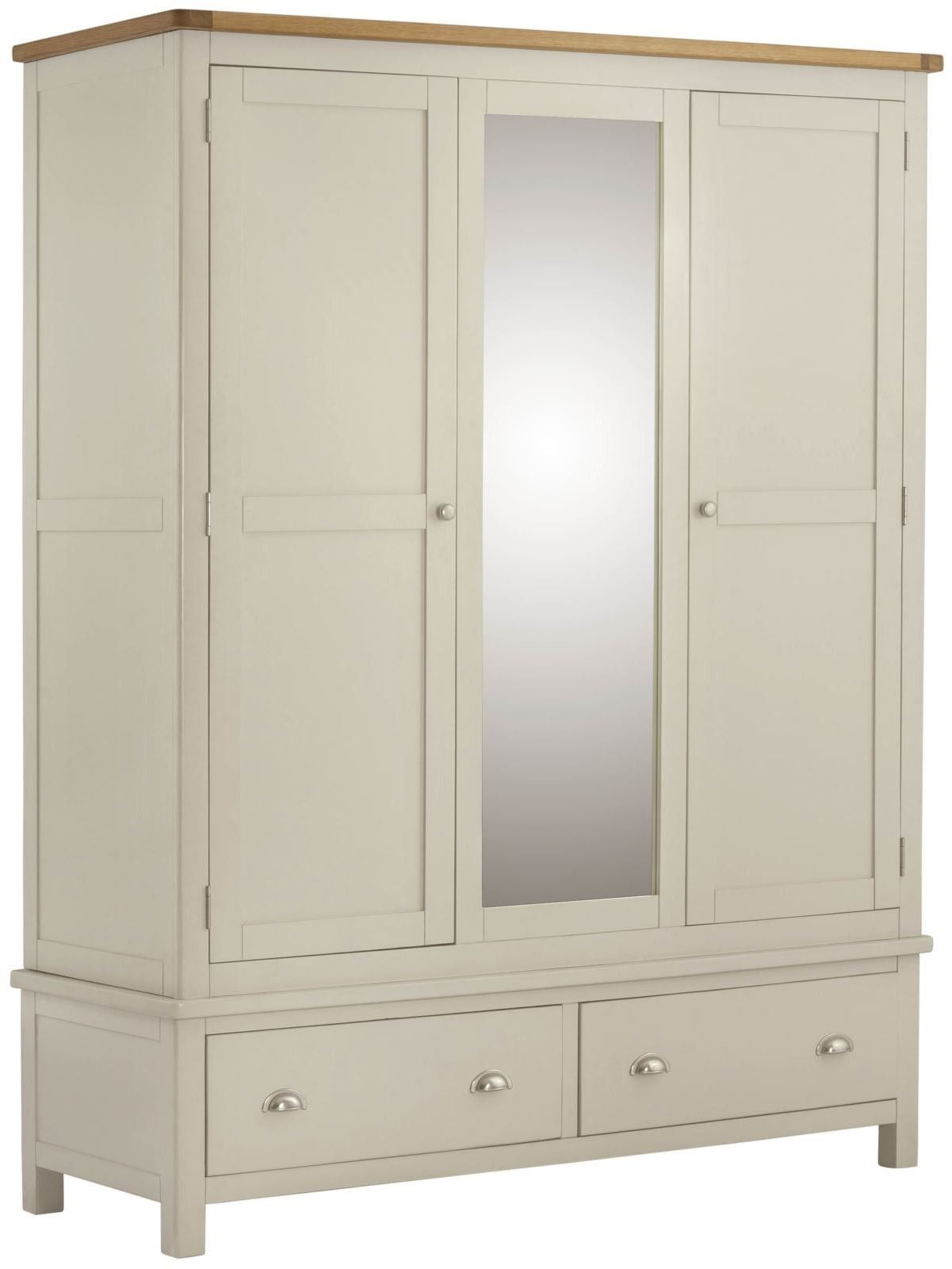 Stratton Cream Wardrobe Triple