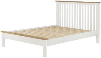 Stratton White Bed Frame Single