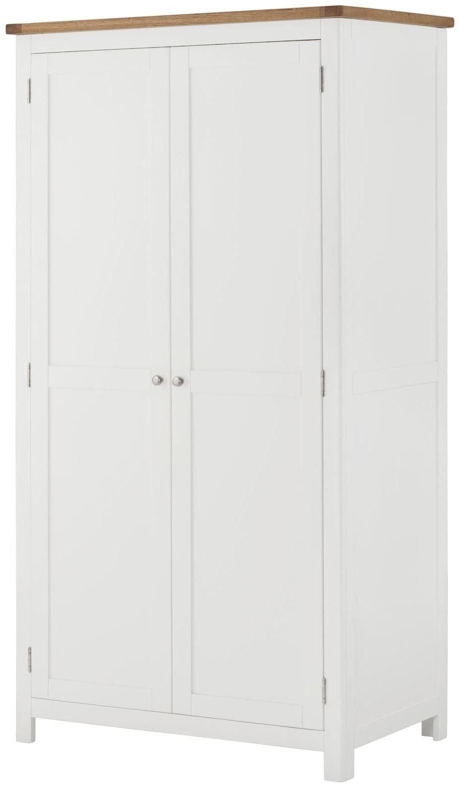 Stratton White Wardrobe 2 Doors