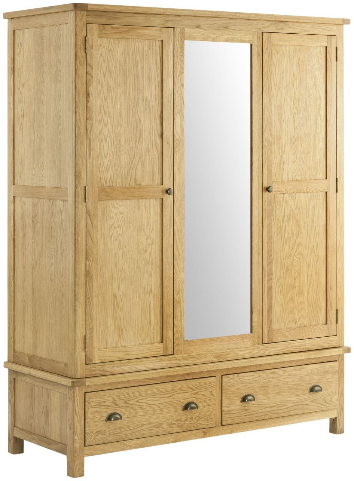 Stratton Oak Wardrobe Triple